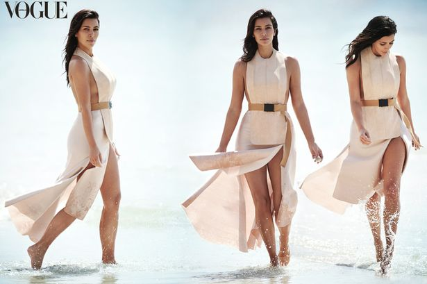 kim kardashian vogue photo shoot